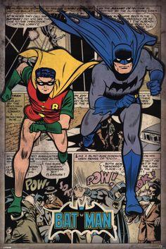 Batman - Comic Montage poster