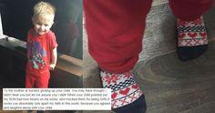 Mother pens epic response after son mocked for wearing 'girly' socks / http://www.pinknews.co.uk/2016/03/30/mother-pens-epic-response-after-son-mocked-for-wearing-girly-socks/?utm_source=ET&utm_medium=ETFB&utm_campaign=portal&utm_content=inf_10_60_2&tse_id=INF_151842ed331d4e9b9d46ba263343f1f3