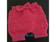 Monsterbukser – LegMedGarn.dk Knitting For Kids, Baby Knitting, Crochet Baby, Knit Crochet, Boho Shorts, Lace Shorts, Baby Barn, Baby Bloomers, Tulum
