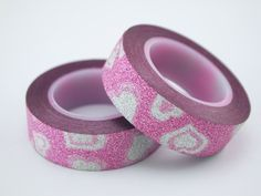 heart glitter tape,heart bling bling glitter tape,heart stock glitter tape,heart flicker tape