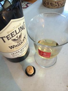 Teeling Whiskey and Barrell Bourbon, Two Delights, recently discovered.  - foodista.com