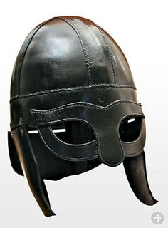 Viking Leather Helmet from maskworld.com