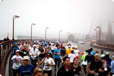 Run from the waterfront to the Golden Gate Bridge to Golden Gate Park during The Biofreeze San Francisco Marathon Half Marathon. Marathon Photo, Marathon Running, San Francisco Half Marathon, Run With Me, Golden Gate Park, Photo Essay, Summer Travel, Live Life, The Past