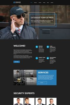 Security Moto CMS HTML Template #65271