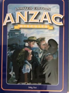 ANZAC Biscuit Tin 2009 Unibic Homecoming Limited Edition Collectable Rare