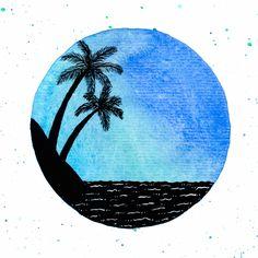 Desenho do Dia #271 - Praia - Soraia Casal