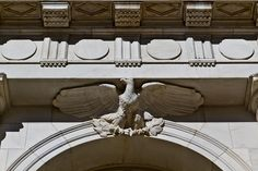 Eagle, Byron White US Courthouse, 1916, Denver, Colorado.IMG_8247 LR Edit by StevenC_in_NYC, via Flickr