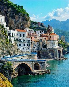 Amalfi Coast, Italy #ItalyPhotography