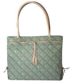 Amazon.com: Dooney & Bourke Ocean Green Canvas Tassel Tote Bag Handbag Purse - SP37B OT: Clothing
