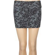 9f79d7bc931368 FULL TILT Lace Print Bodycon Skirt $4.97 was: $14.99 Cute Skirts, Short  Skirts,