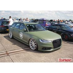 What do you think of this Military Green A6 Avant?