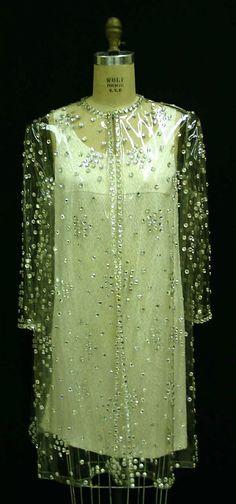 Oscar de la Renta 1967 plastic coat