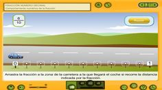 Juego interactivo para ubicar fracciones en la recta