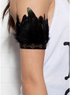Feather Accessory Black
