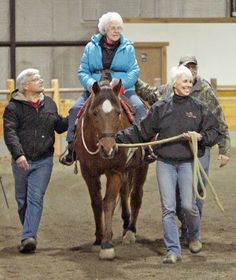 I love this!!  Great-great-grandmother rides again thanks to hospice program