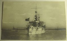 RARE 1904 ROTOGRAPH RPPC U.S NAVY BATTLESHIP USS NEW YORK REAL PHOTO POSTCARD