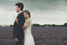 Love and lavender. French wedding !