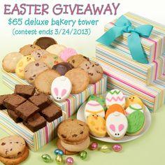 Easter Cookie & Brownie Giveaway - ends 3/24/2013