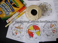 Holy Spirit Wind Chime Crafts