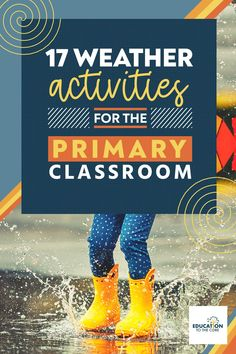 Not to mention that teaching science and social studies has been demonstrated to increase reading test scores (and that's what it is all about, right?). Plus, kids LOVE science. Try out these 17 weather activities for the primary classroom if you don't believe us... and watch your students fall in love. Second Grade Teacher, First Grade Classroom, Primary Classroom, Kindergarten Classroom, Weather Activities, Vocabulary Activities, Science Activities, Reading Test, Reading Intervention