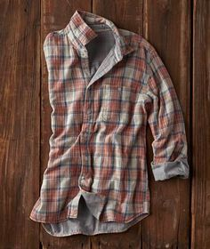 Effortlessly Cool Men's Shirts - Mesa Plaid - Carbon2Cobalt