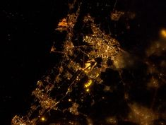 Amsterdã from space.
