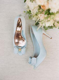 hochzeitsschuhe hellblau something blue, bridal shoes, pumps, bow Blue Bridal Shoes, Satin Wedding Shoes, Wedding Boots, Wedding Heels, Bride Shoes, Prom Shoes, Cute Shoes, Me Too Shoes, Pretty Shoes