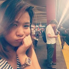 Waiting for my subway