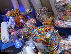 A Magic Moment Photography captured this photo of every kid's dream come true.. candy buffet!