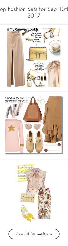 """Top Fashion Sets for Sep 15th, 2017"" by polyvore ❤ liked on Polyvore featuring Chloé, Gucci, Tom Ford, Kendra Scott, Disney, Bella Freud, Givenchy, Loewe, Christian Dior and LC Lauren Conrad"