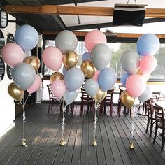 Who loves rose gold? We're now stocking rose gold hearts, orbz, latex balloons, confetti and tassels. Baby Shower Party Games, Bridal Shower Games, Baby Shower Themes, Gender Reveal Party Decorations, Girl Baby Shower Decorations, 1st Birthday Photoshoot, Birthday Fun, Wedding Ballons, Deco Rose
