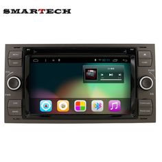 """7"""" Android 6.0 Quad Core Car Video Player GPS Navigation For Ford Focus Galaxy S-Max Fusion Fiesta 1024*600HD Mirrorlink"""