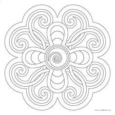 Free Coloring Mandala 328153