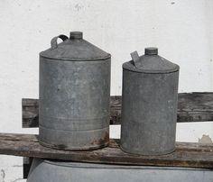 Vintage Wohnaccessoires - Zinn-Container - ein Designerstück von Dakry bei DaWanda
