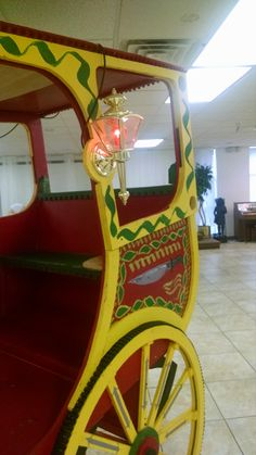 Carriage at a storybook castle baby shower Credit: C-MY Style Event Planning LLC