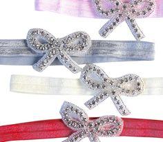 Diamond Baby Bows by Headbands of Hope :)
