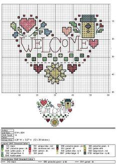 Amor por el punto de cruz (pág. 18)   Aprender manualidades es facilisimo.com