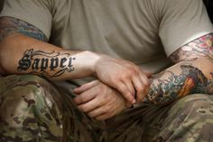 """Despite strict new army rules, other branches keep tattoo policies intact."""
