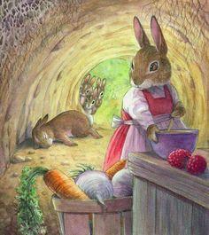 Peter Rabbit by Wendy Rassmussen