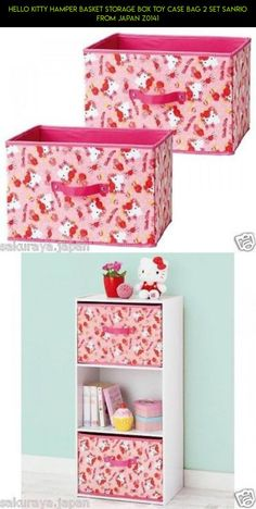 Hello Kitty Hamper Basket Storage Box Toy Case Bag 2 Set Sanrio from Japan Z0141 #camera #shopping #technology #racing #plans #case #storage #tech #parts #fpv #z #gadgets #products #kit #drone