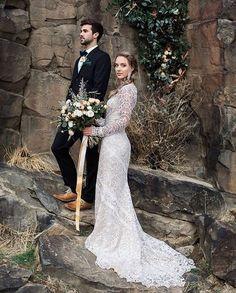 "687 Likes, 19 Comments - Tara Lauren (@tara_lauren) on Instagram: ""This capture of our Spring '17 Felix gown by @radionphotography has us swooning  Regram from…"" . . . . . #taralauren #tlbabe #taralaurenbride #bride #wedding #weddingdress #weddinginspo #weddingideas #weddinginspiration #weddingphotography #bohobride #bohemian #boho #rustic #stylemepretty #greenweddingshoes #magnoliarouge #hellomay"