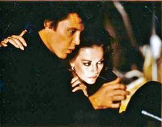 Natalie Wood & Christopher Walken from her final movie Brainstorm1981