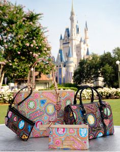 Dooney & Bourke Princess Collection = cuteness....I have a mickey set, might have to buy one of these too!