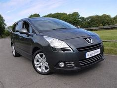 used Peugeot 5008 HDI EXCLUSIVE in surrey