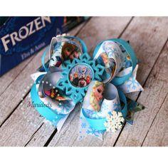 Ganchito para el Cabello de Frozen hecho a mano por Marideas