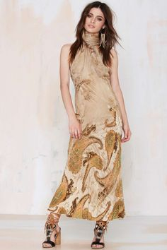 Vintage Roberto Cavalli La Boutique Silk Dress | Shop Vintage at Nasty Gal!