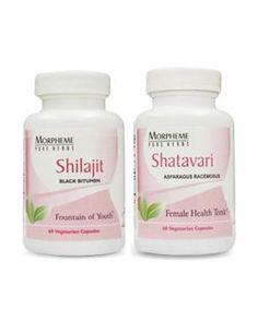 Shilajit + Shatavari | Ayurvedic Natural Cure Supplements