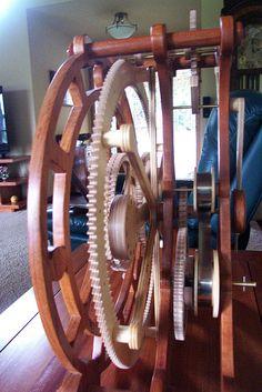 Epicyclic Clock 2 by Bill Rickerson