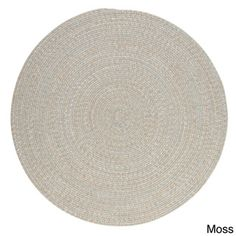 Colonial Mills Urban Blend Braided Area Rug x (Urban Blend Moss Green, Size x (Plastic, Border)