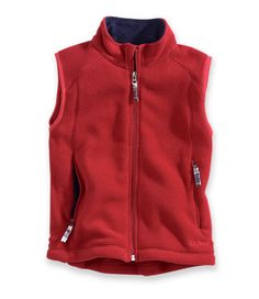 Kids' Trail Model Fleece Vest: Vests | Free Shipping at L.L.Bean Fleece Vest, Cub Scouts, Ll Bean, My Boys, Hooded Jacket, Zip, Vests, Model, Jackets